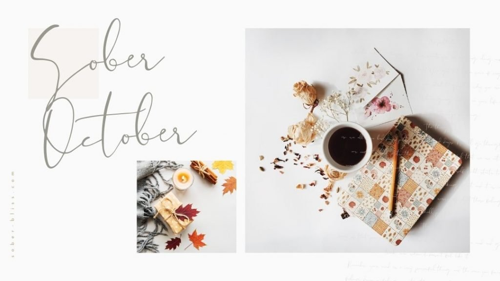 how to have a successful sober october