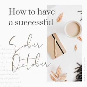 how to have a sober october