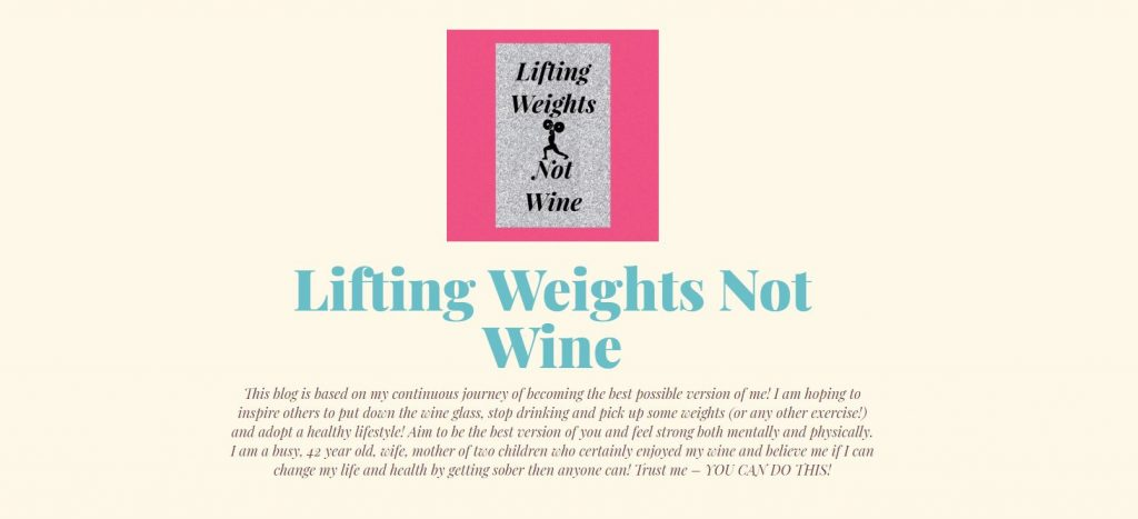 angie weights not wine