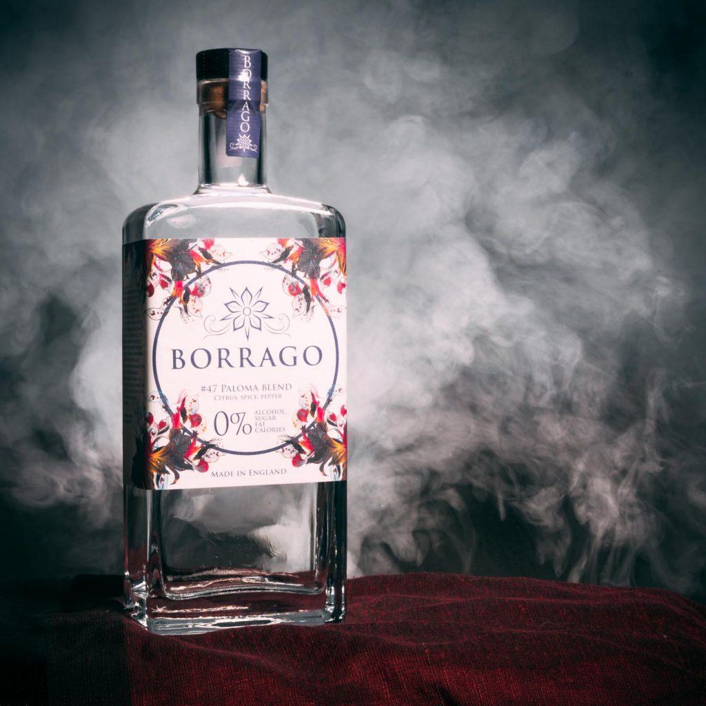 drink borrago spirit paloma
