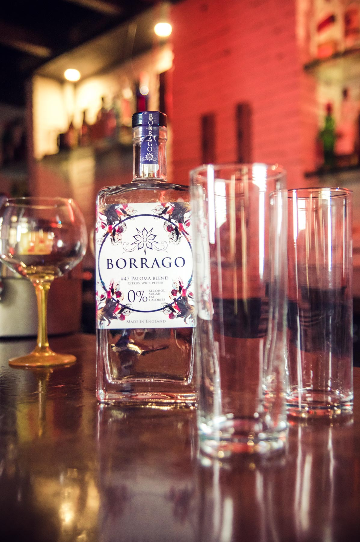 Borrago alcohol free