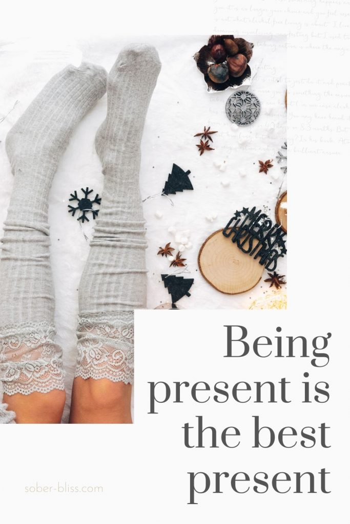 being present is the best present
