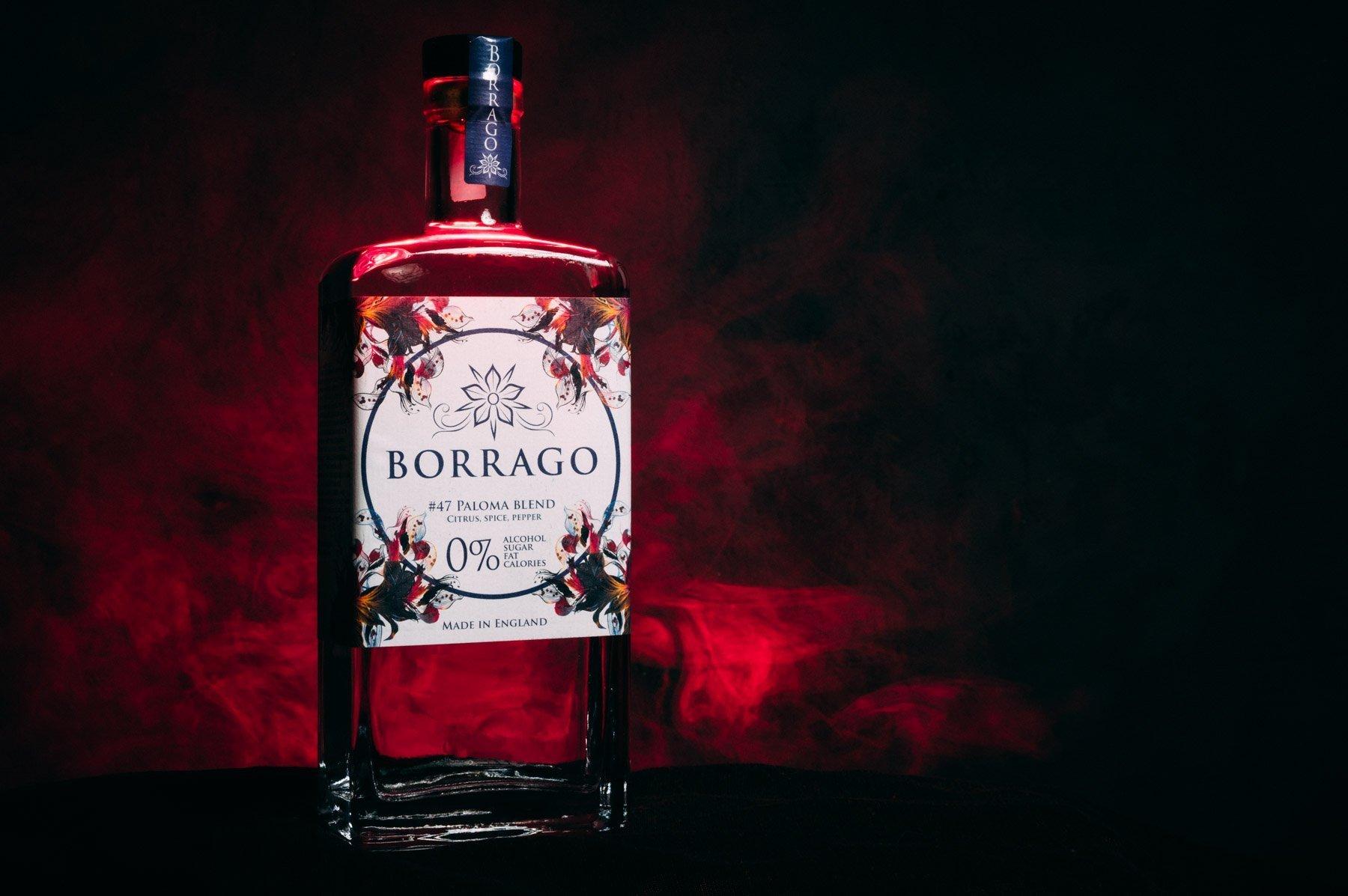 borrago alochol free gin