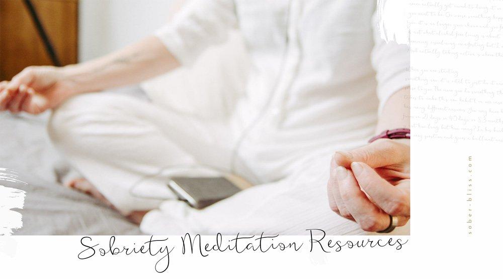 sober meditation how to