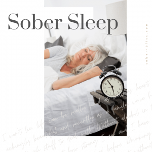 sober sleep