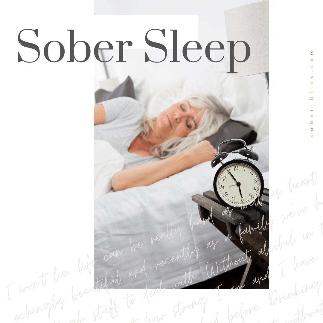 sober sleep