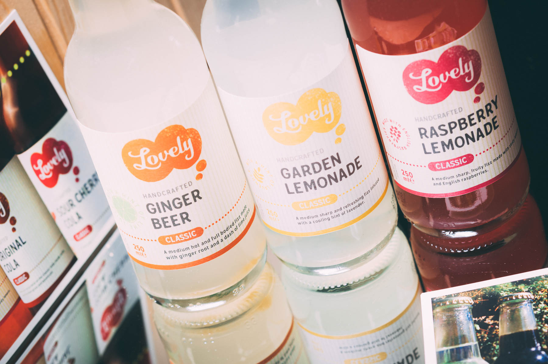 lovely drinks premium sodas