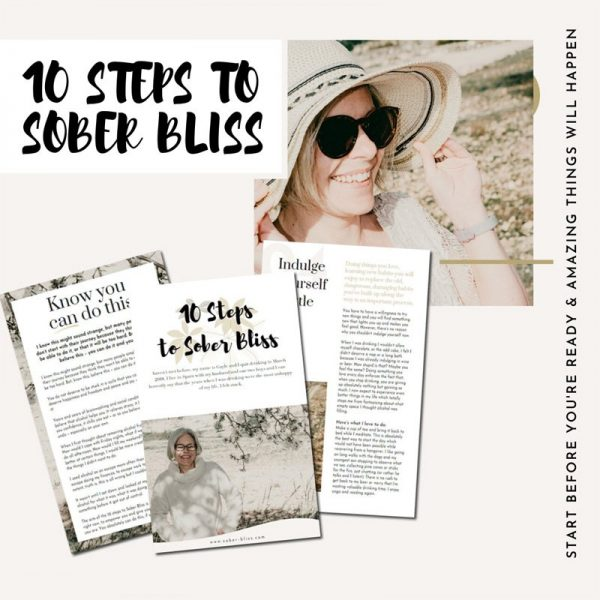 10 steps to sober bliss