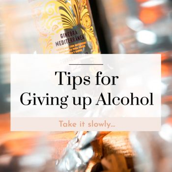 best tips for giving up alcohol