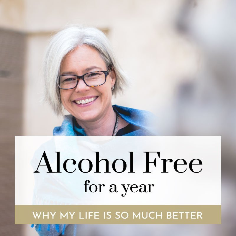 alcohol free for a year