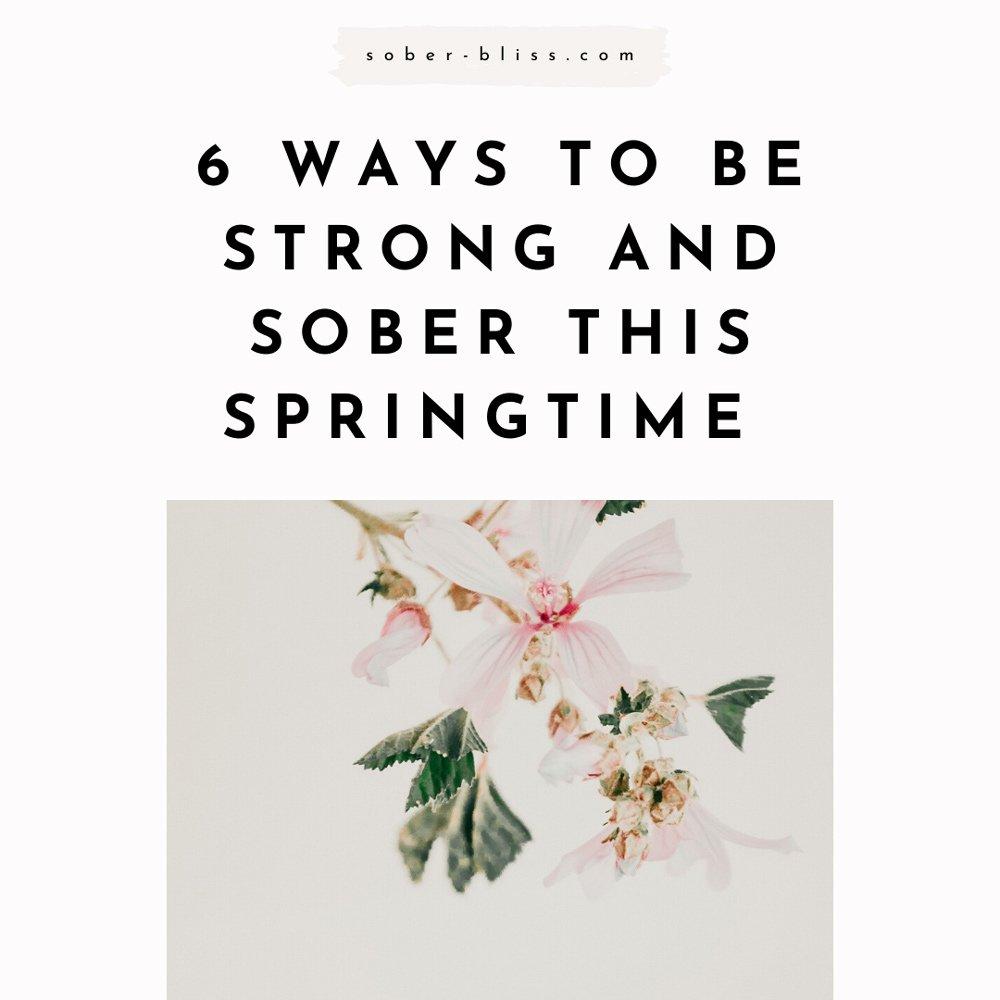 sober spring