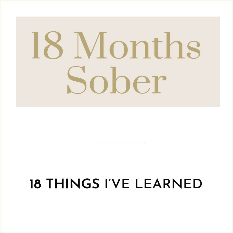 18 months sober quitting alcohol