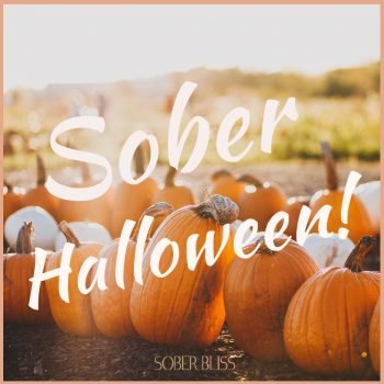 staying sober at halloween