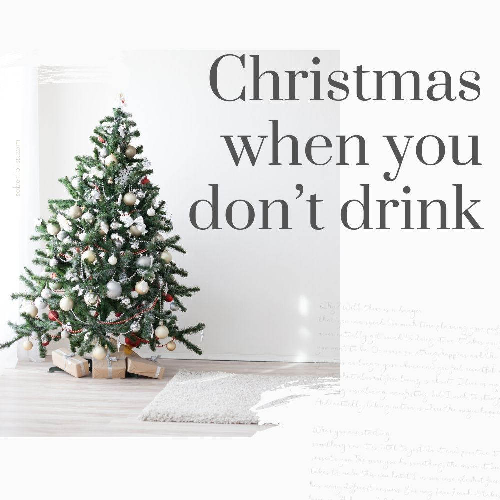 christmas when you don't drink