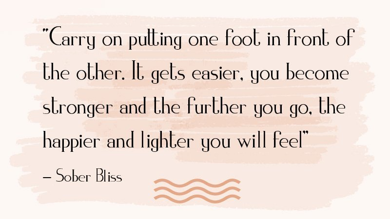 sober bliss motivational quotes