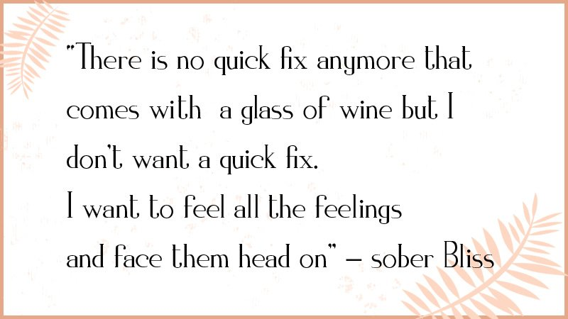 sober bliss quotes