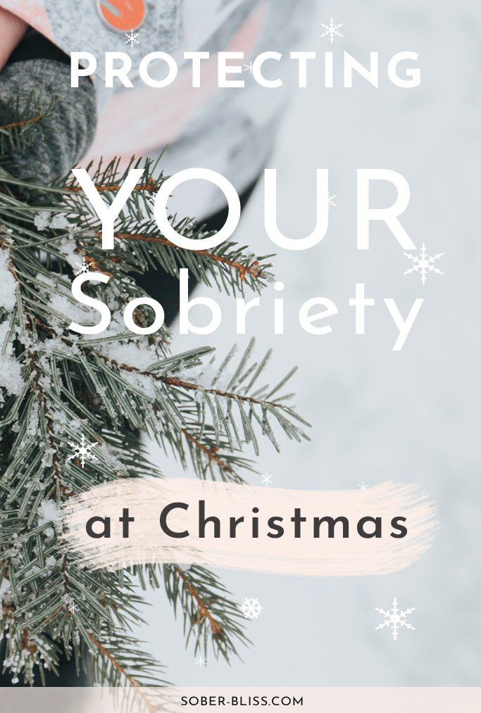 sobriety at christmas