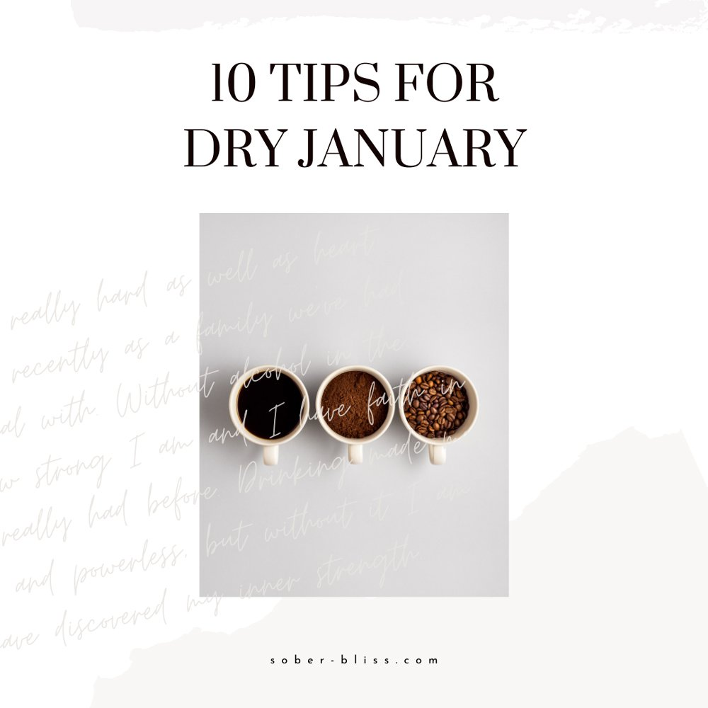 10 tips for dry january