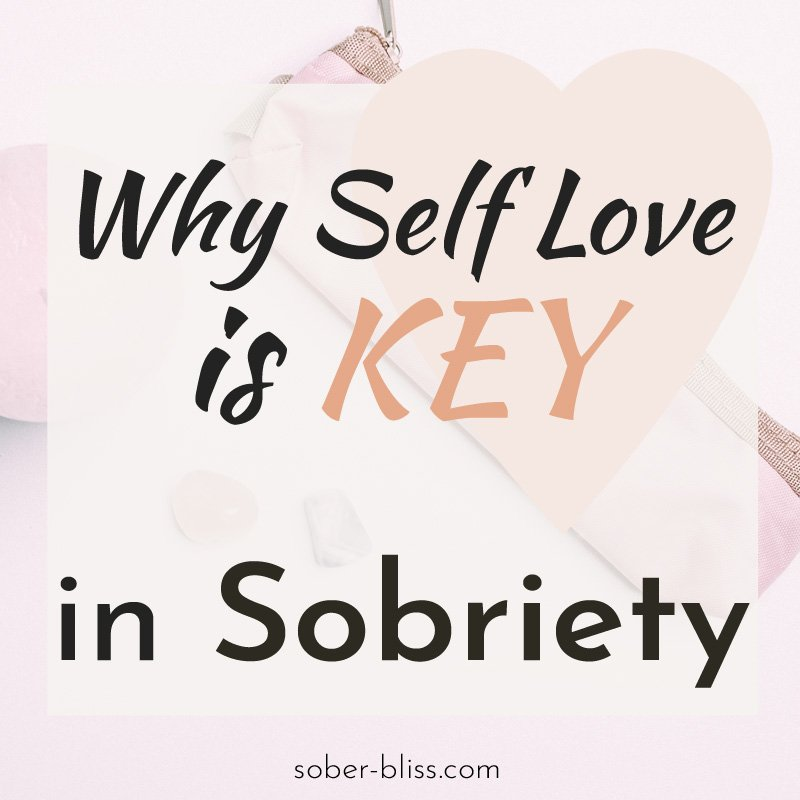 self love in sobriety