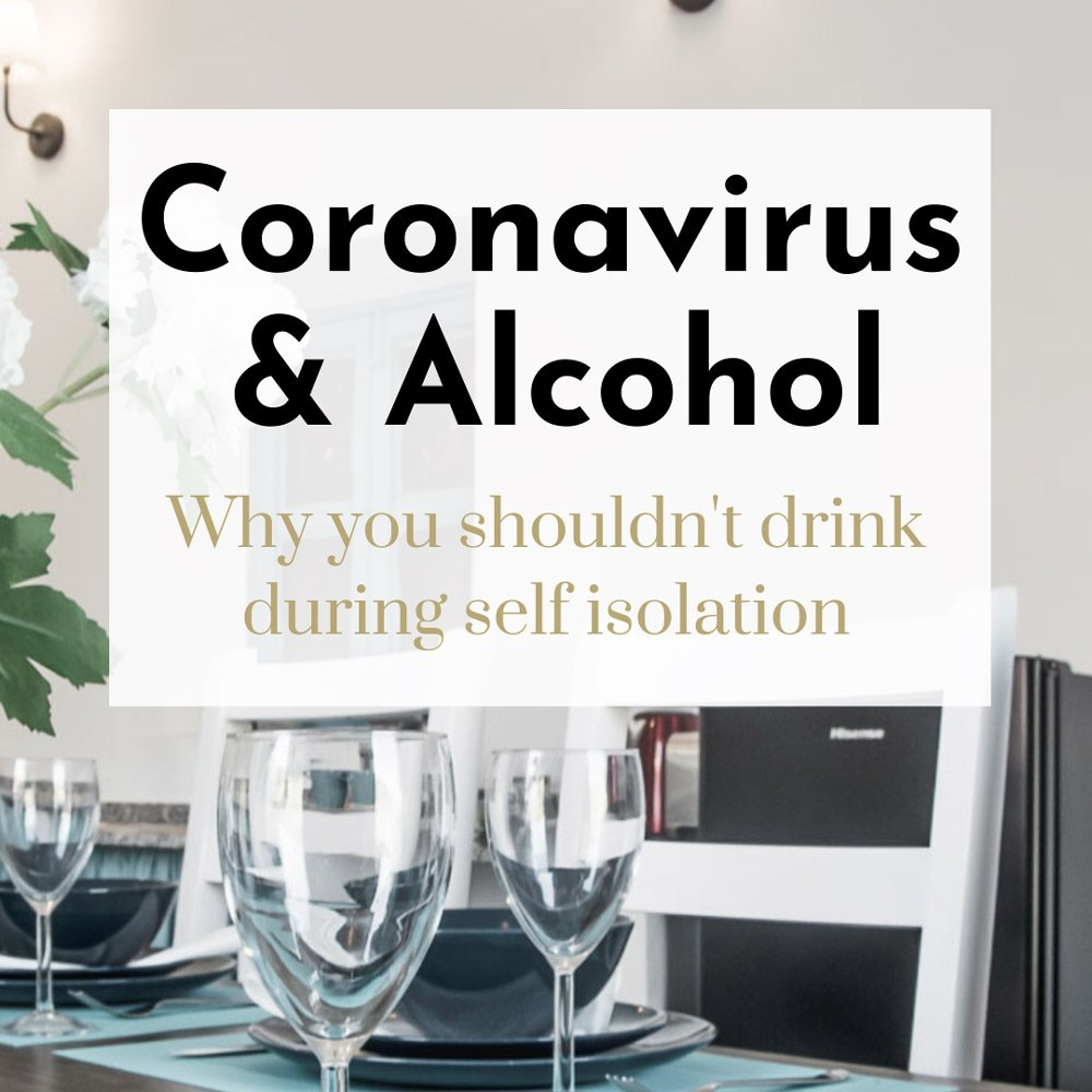 coronavirus and alcohol