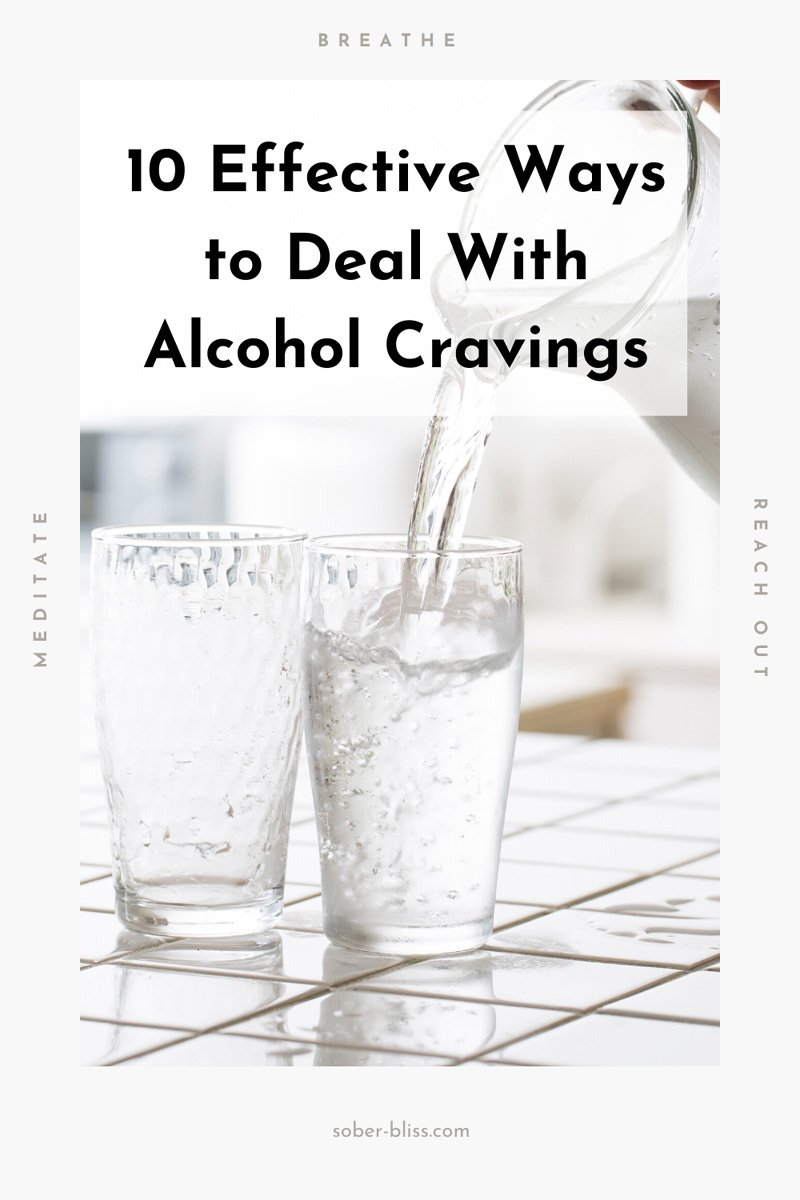 efefsctive ways to deal with alcohol cravings