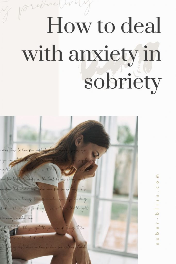 anxiety and sobriety