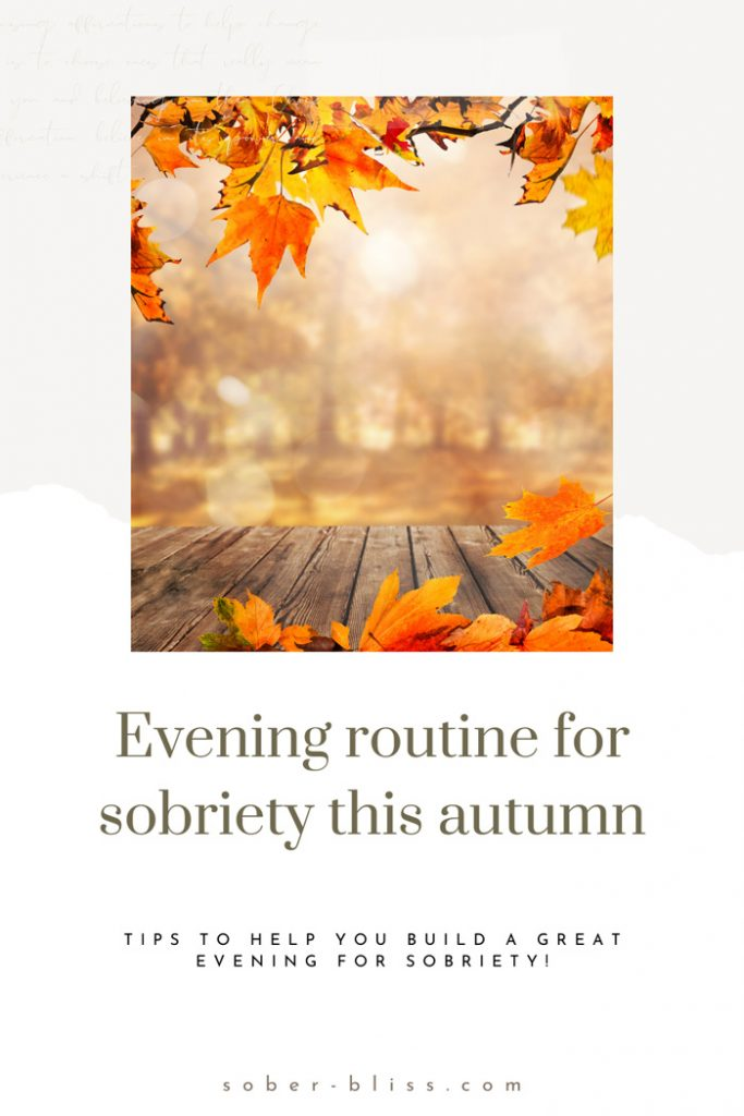 autumn sobriety