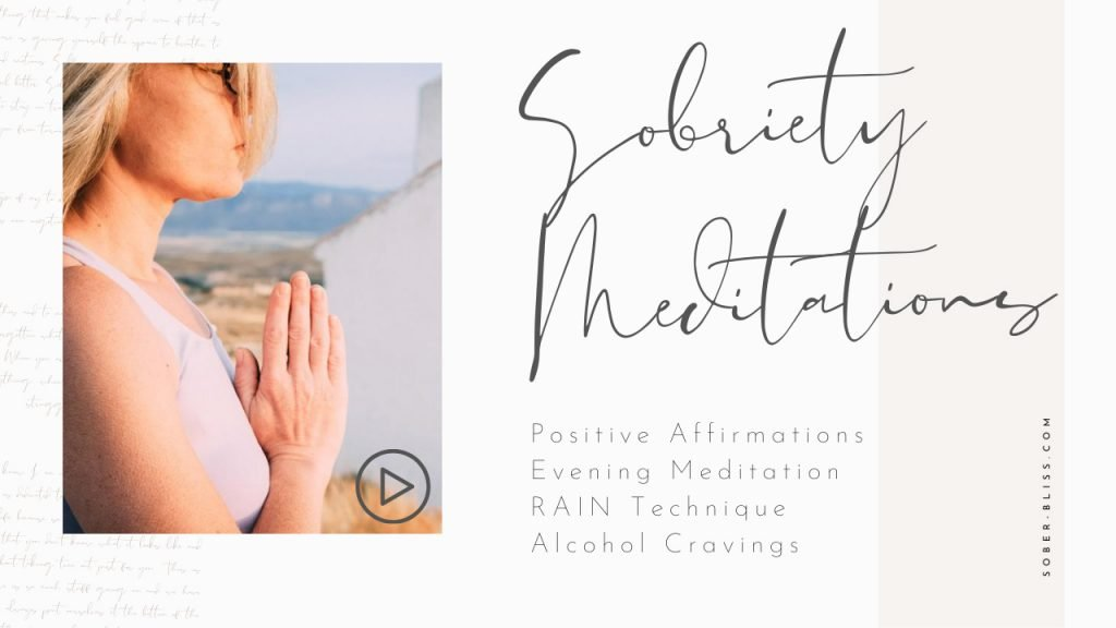 sobriety meditations and positive affirmations