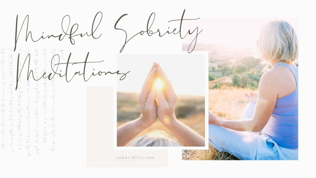sobriety meditations for quitting drinking