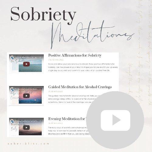 sobriety meditations