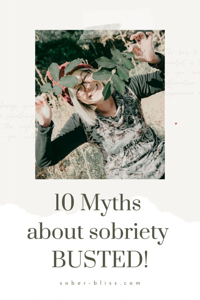 10 myths about sobriety