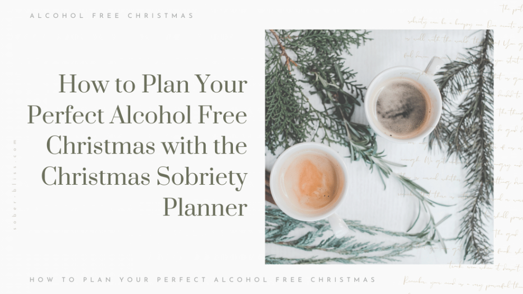 how to plan your alcohol free christmas