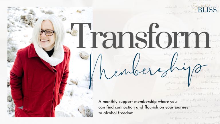 sober bliss transform membership
