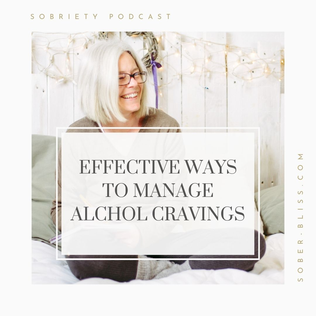 effective ways to manage alcohol cravings
