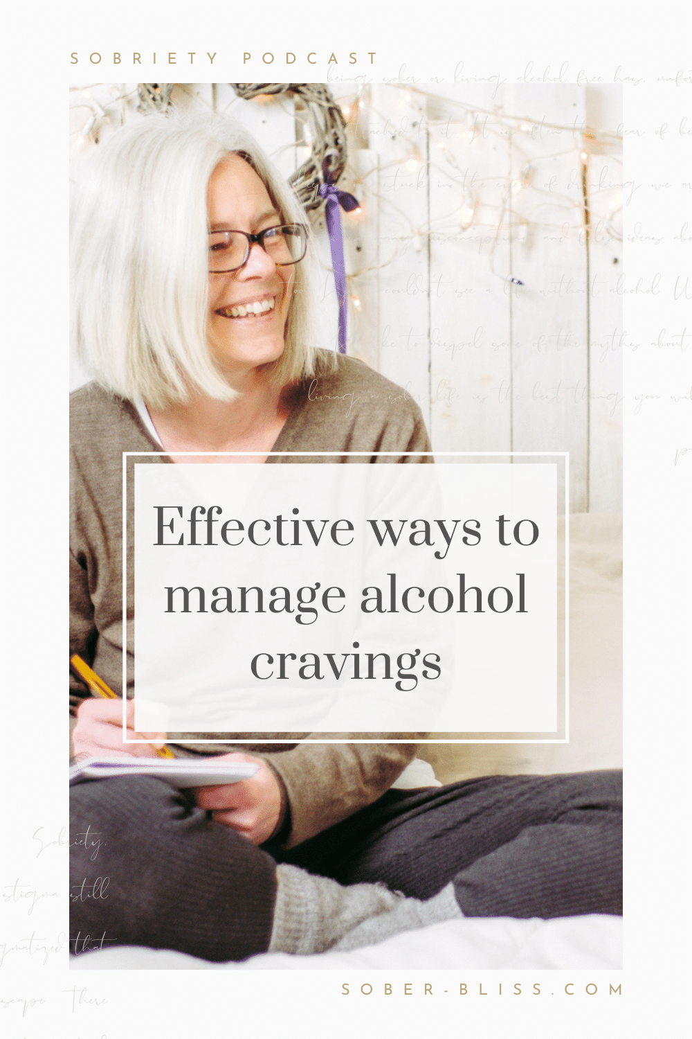 ways to manage alcohol cravings