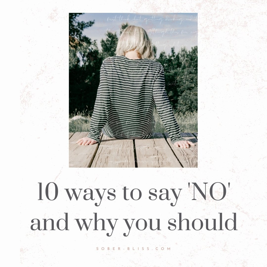 ten ways to say no