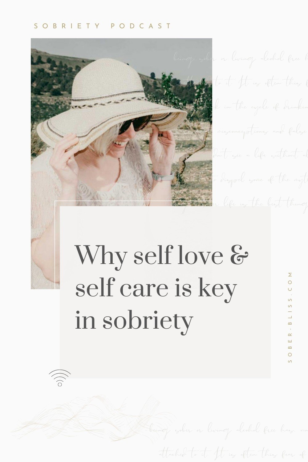 self care is key in sobriety