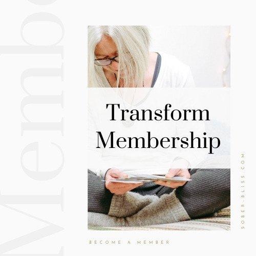 transform group sober bliss