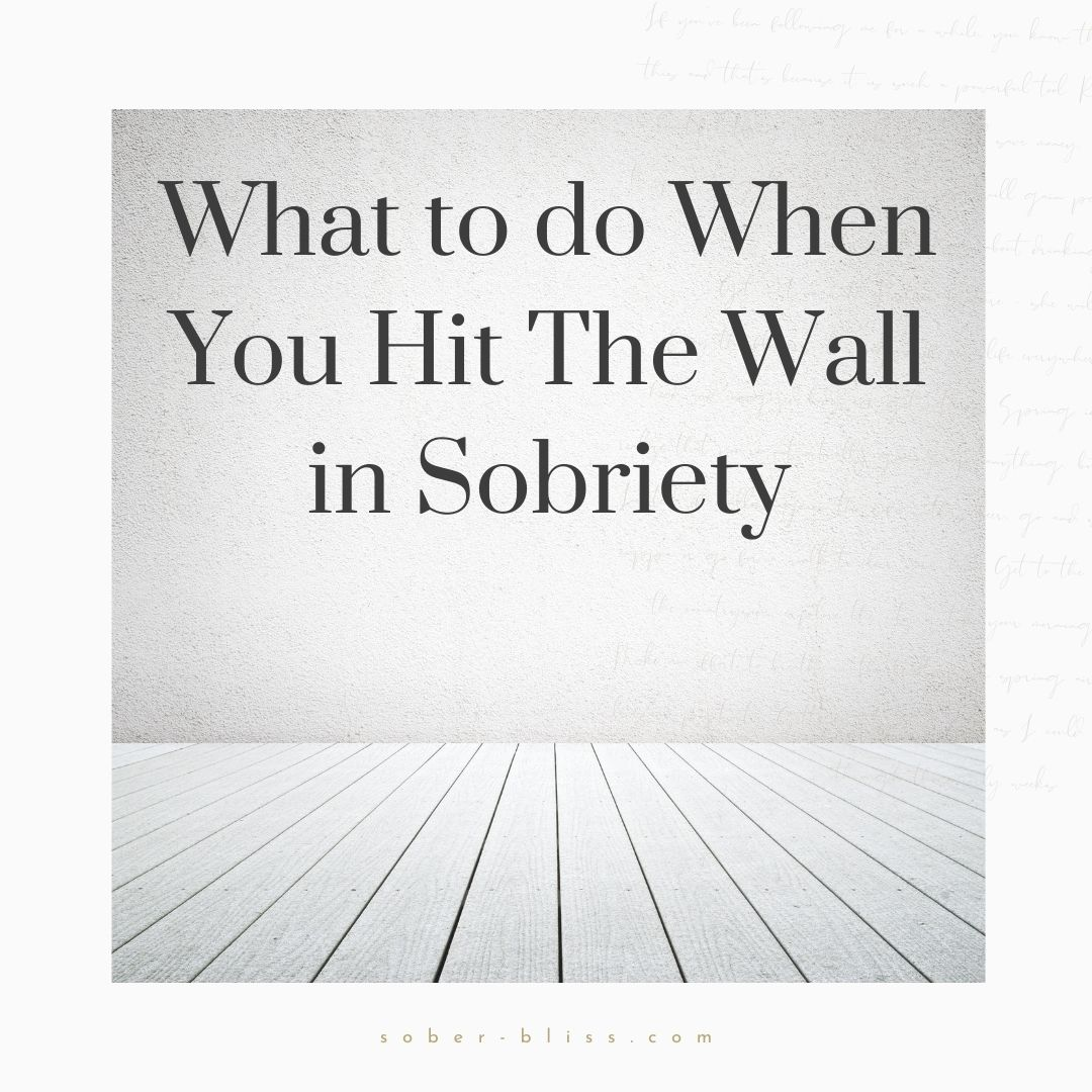 wall in sobriety