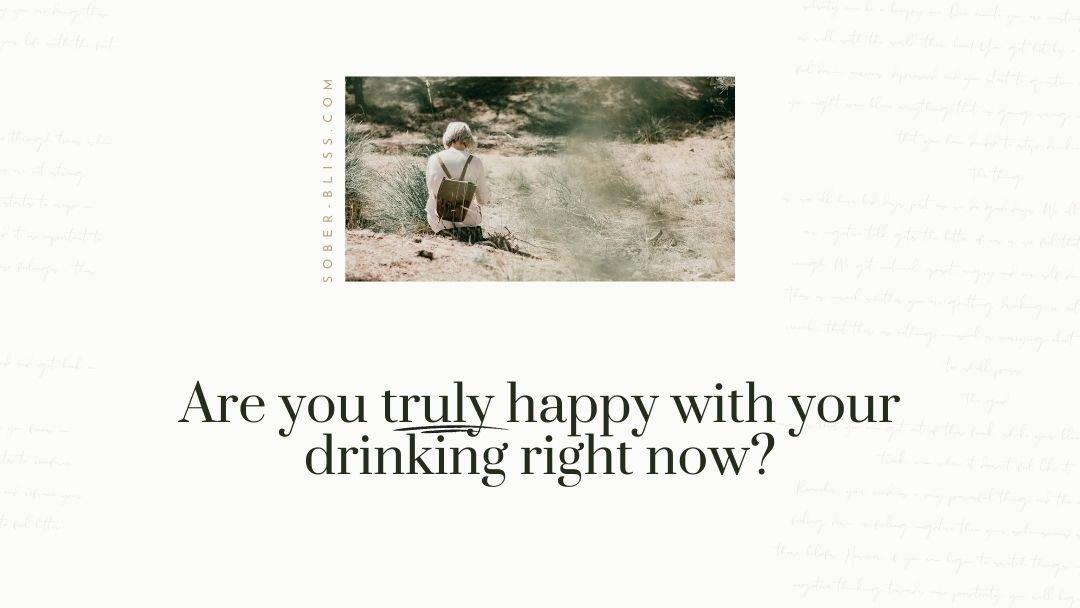 I'll stop drinking