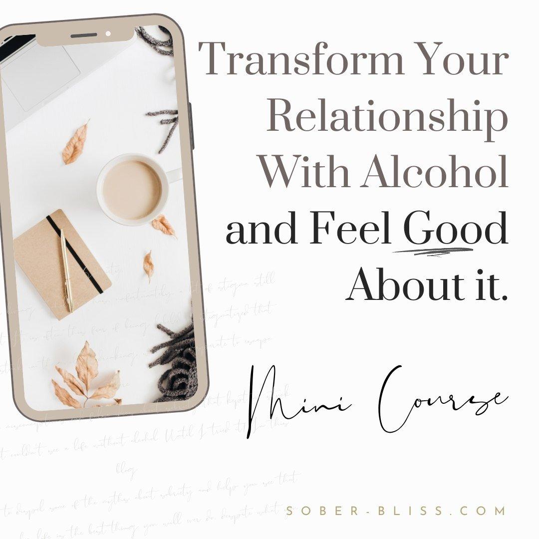 Transform and feel good mini course