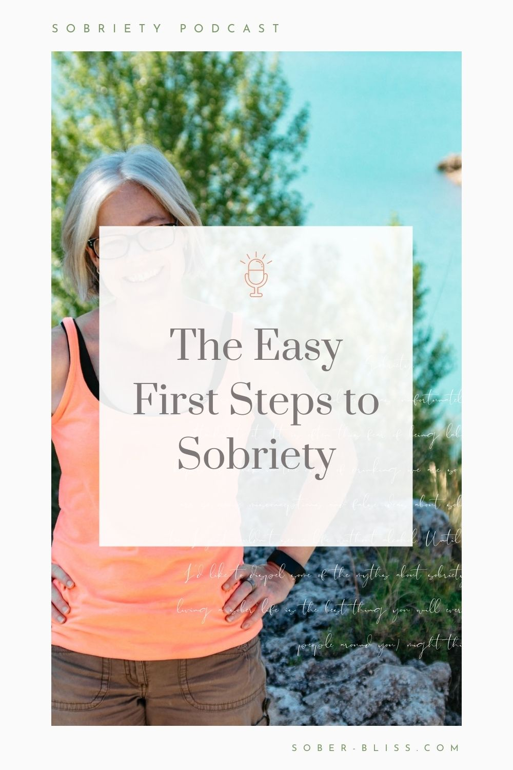 first step to sobriety